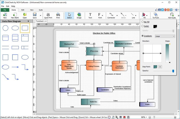 ClickCharts FlowCharts Software Free