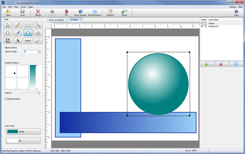 DrawPad Graphic Editor Free