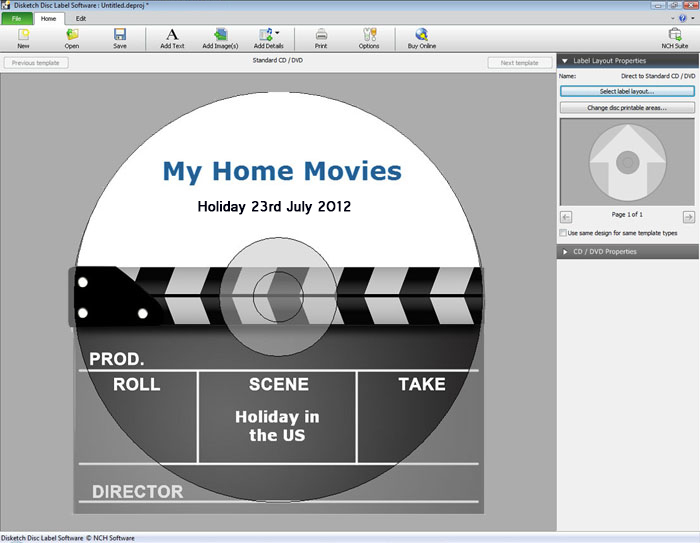 Disketch Disc Label Software Free