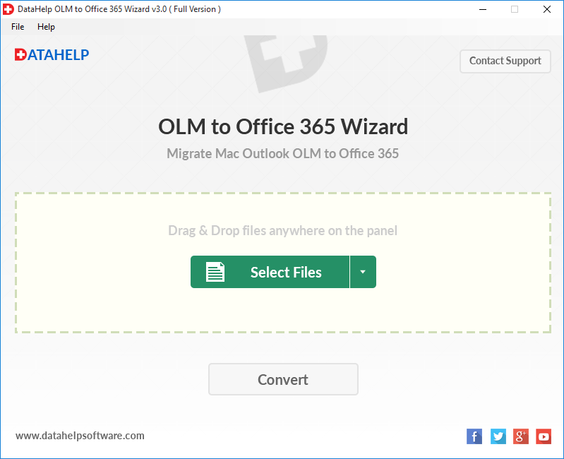 OutlookWare OLM to Office 365 Importer Tool