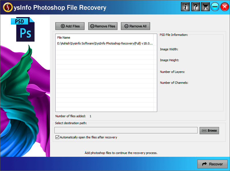 Photoshop Recovery