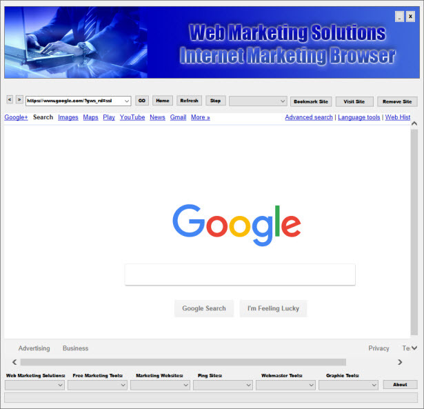 Internet Marketing Browser