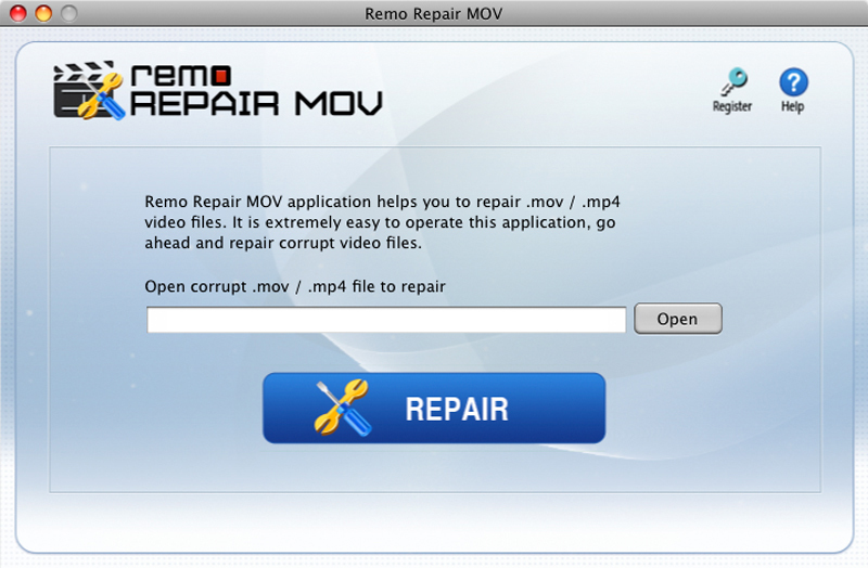 Remo Repair MOV Mac