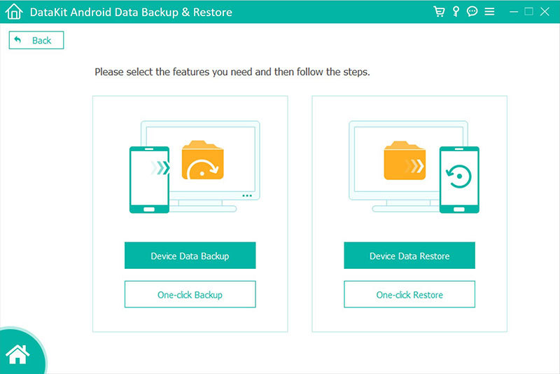 DataKit Mac Android Data Backup Restore