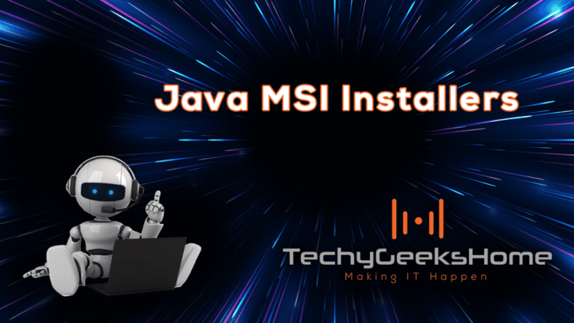MSI Installers for Java