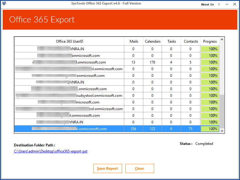 Office 365 Export Mailbox