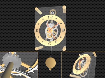Pendulum Clock 3D Screensaver