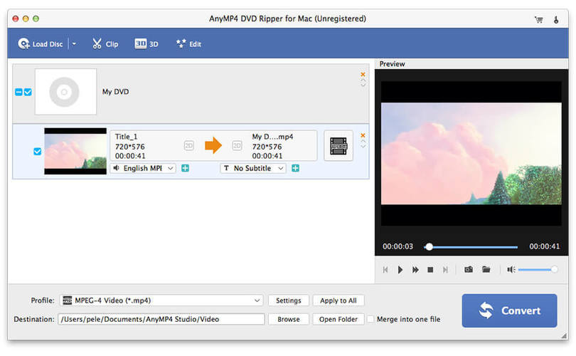 AnyMP4 DVD Creator for Mac