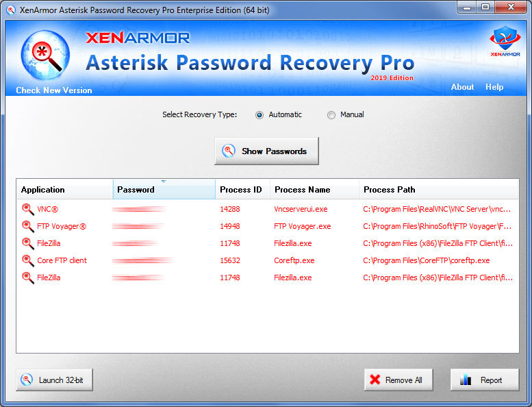 Asterisk Password Recovery Pro 2019