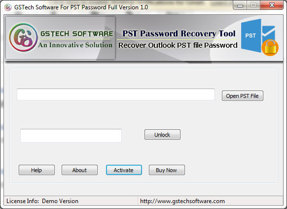 Microsoft PST Password Recovery