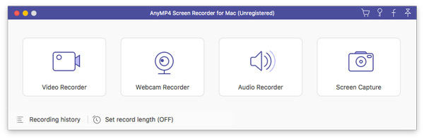 AnyMP4 Screen Recorder for Mac