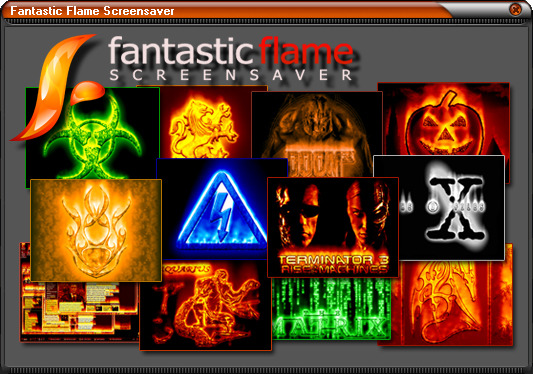Fantastic Flame Screensaver