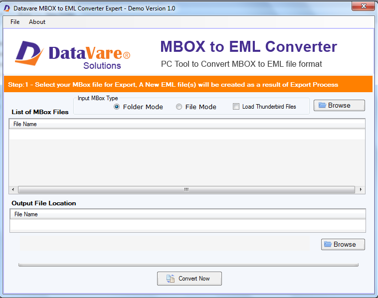 Toolsbaer MBOX to EML Conversion Tool