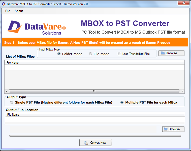 Toolsbaer MBOX to PST Conversion Tool
