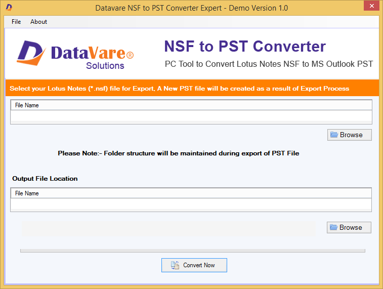 Toolsbaer NSF to PST Conversion Tool