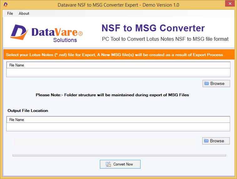 Toolsbaer NSF to MSG Conversion Tool