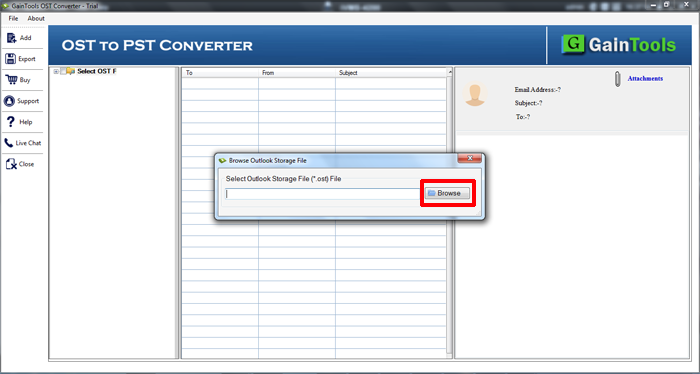 SameTools cambia OST a PST Office 2013