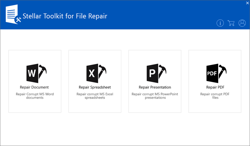 Stellar Toolkit for File Repair