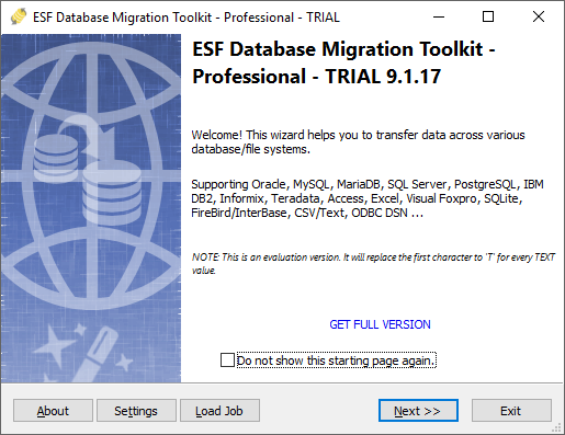 ESF Database Migration Toolkit - Pro