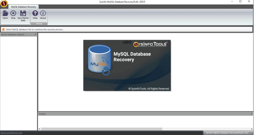 MailConverterTools MySQL Database Repair