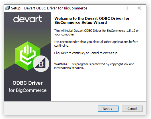 ODBC Driver for BigCommerce