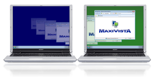 MaxiVista - Multi Monitor Software