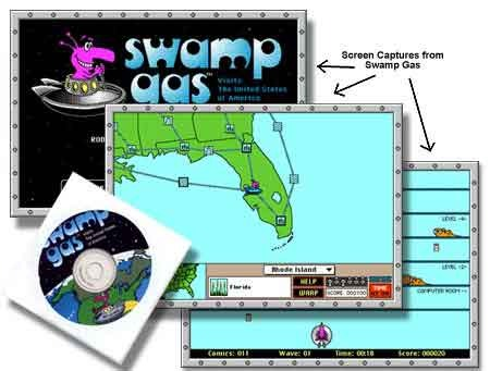 Swamp Gas Visits The USA – Site License