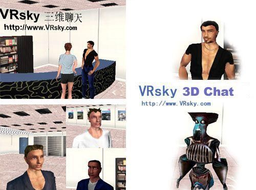 VRsky 3DChat world [Type A]
