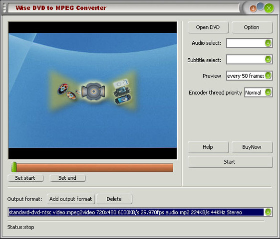 Wise DVD to AVI Converter