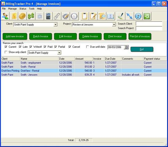 BillingTracker Pro Invoice Software