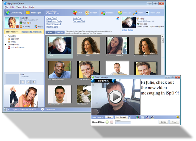 iSpQ Video Chat