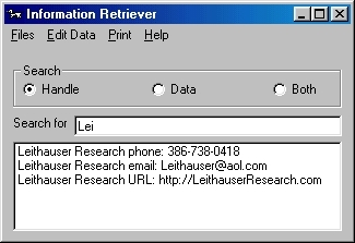 Information Retriever
