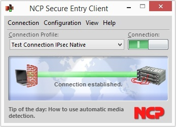 NCP Secure Entry Windows Client