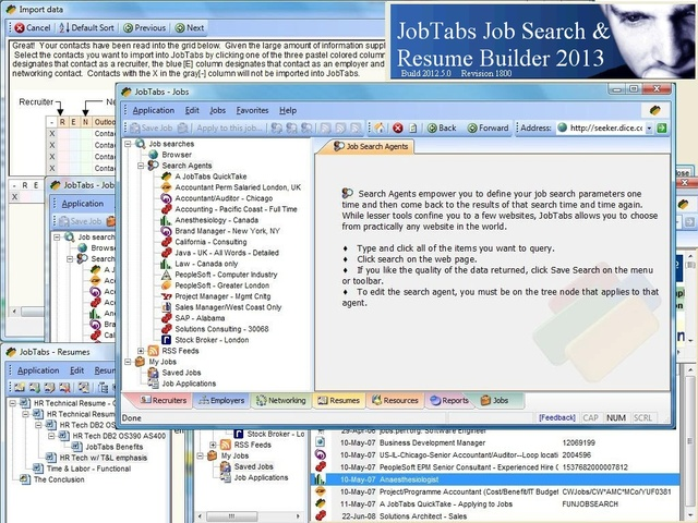 JobTabs Job Search and Resume Builder