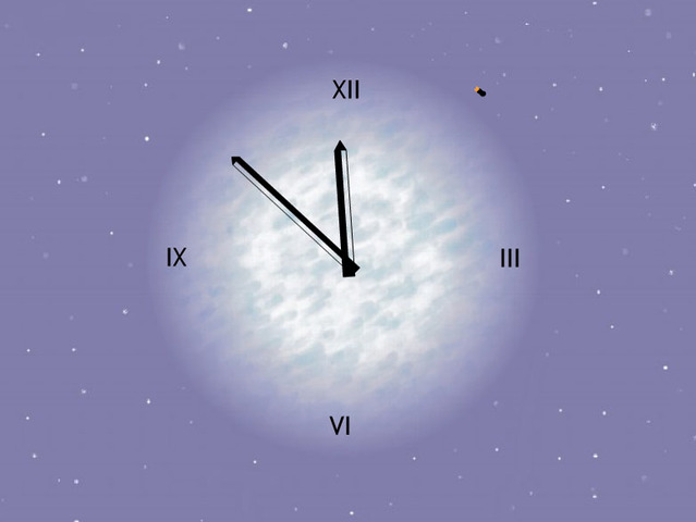 7art Venus Clock ScreenSaver