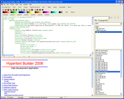 Hypertext Builder