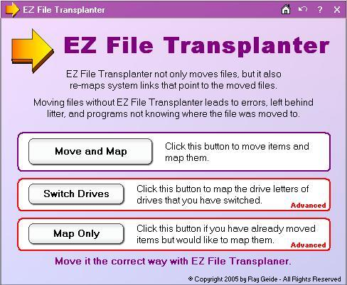 EZ File Transplanter