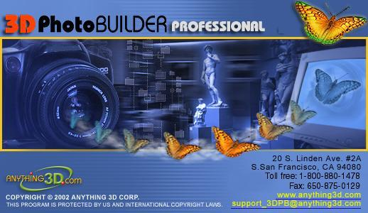 3D Photo Builder Professional Edition