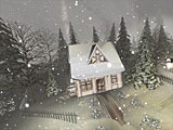 Snowy Winter 3D Screensaver