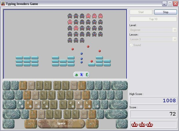 Typing Invaders – Free Typing Game