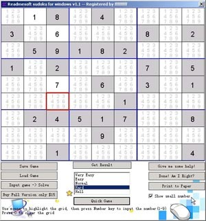 Sudoku for Windows