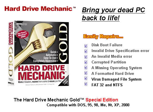 The Hard Drive Mechanic Gold Special Edition
