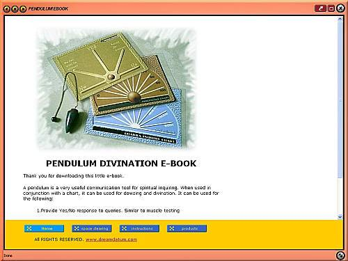 Pendulum Divination E-book