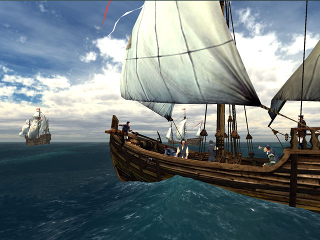 Voyage of Columbus 3D Screensaver