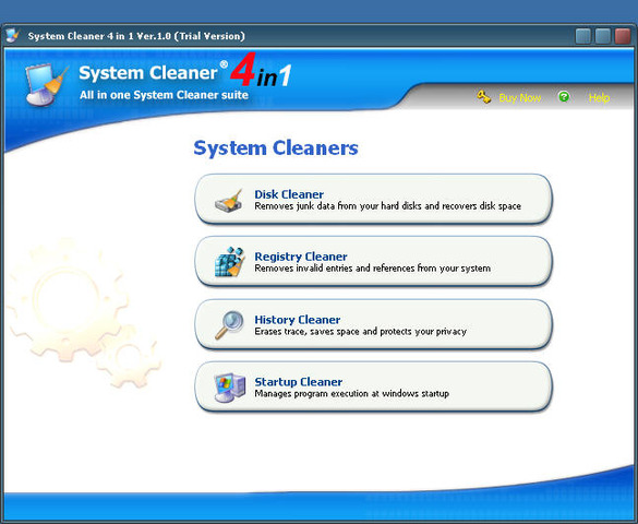 System Cleaner 4 in 1