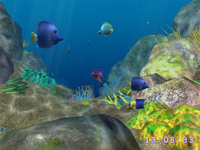 3D Coral World ScreenSaver