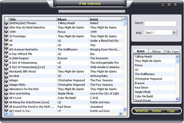 Tansee iPod audio video Transfer 3.0