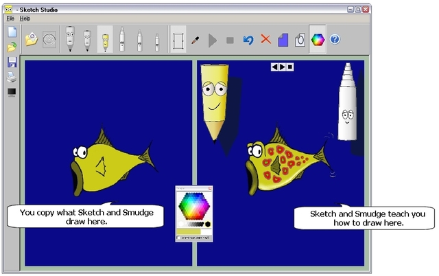 Sketch Studio Drawing Program