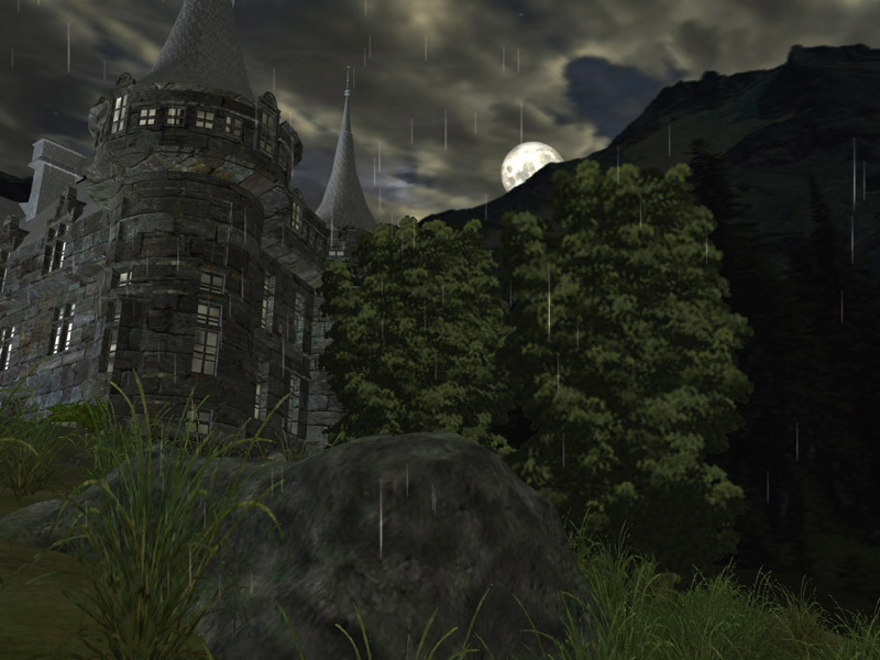 Dark Castle 3D screensaver