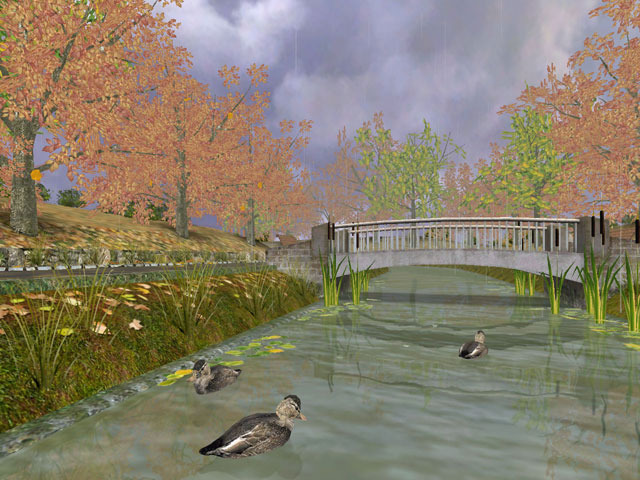 Autumn Time 3D Screensaver